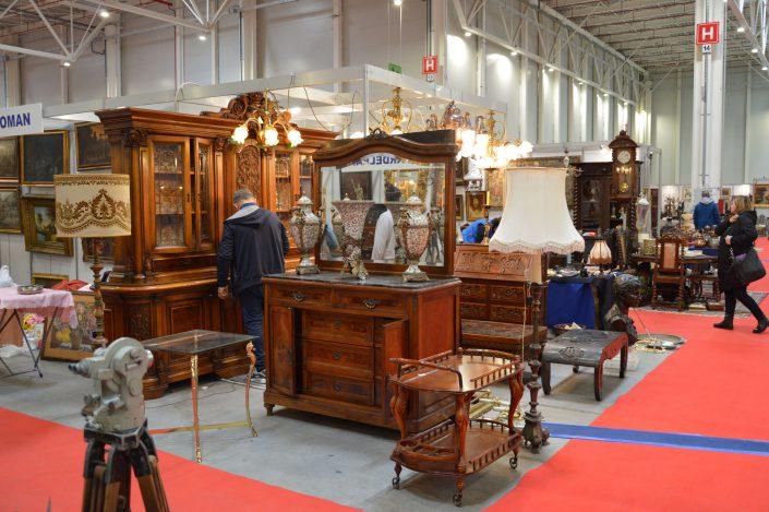 Antique Market - Expozanții vor expune produse și obiecte de artă într-un cadru profesionist!